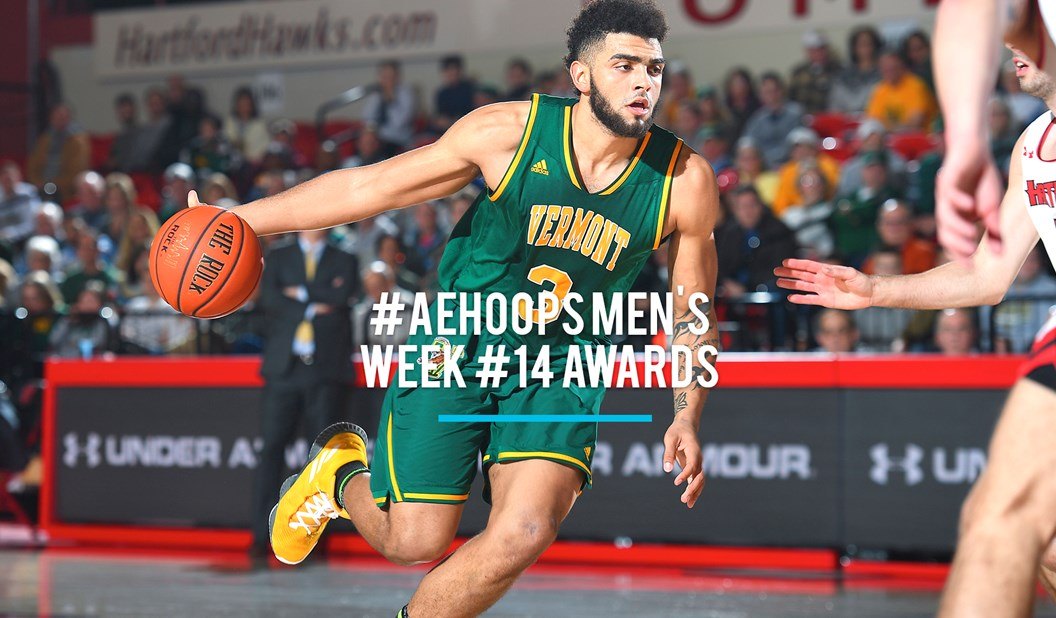 951889dd1 Lamb Earns 7th  AEHoops Player of Week Honor - America East Conference